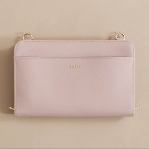 Calpak Blush Travel Wallet